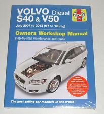 Reparaturanleitung Volvo S40 + V50 Diesel (D3 / D4 / D5), Baujahre 2007 - 2013