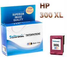 1x Drucker Patrone Seitronic für HP 300XL Farbig Reset DESKJET F4580 F4583 F5560