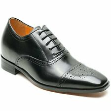 """CHAMARIPA Men's Leather Dress Elevator Wing-tip Oxford Shoes 2.76"""" SZ 11 (8370)"""