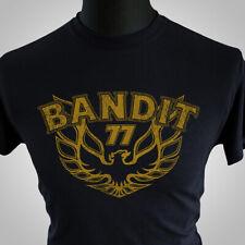 Smokey and the Bandit T Shirt 77 Movie Themed Retro Burt Trans Am 70's Black