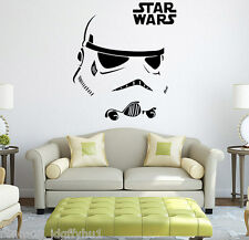 STAR WARS StormTrooper Wall Car Auto Decal Sticker Classic Movie Use the Force