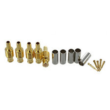 5pcs MCX Male Plug Straight RF Adapter Connector for RG179 Cable N3