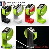 STATION D'ACCUEIL POUR APPLE WATCH 1/2/3 38/42MM PRESENTOIR DOCK SUPPORT SOCLE