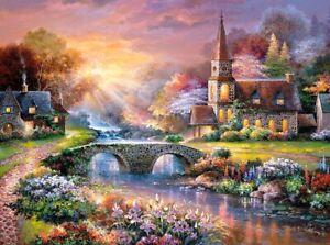 New 3000 Pieces pcs pc Puzzle jigsaw Castorland Peaceful Reflections   C-300419