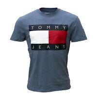 Tommy Hilfiger, Tommy Jeans Herren T-Shirt, blau, Kurzarm, Rundhals, Größe XS