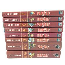 Fairy Tail Lot 10 Manga Tomes 1 à 10