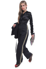 RRP €820 PRADA MILANO Trousers Size 40 / S Flat Front Side Stripes Drawstring
