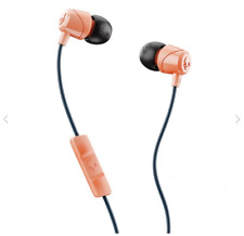 Skullcandy JIB In-Ear Wired Earbuds Headphones w/Mic- Sunset Orange/Black