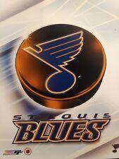 ST. LOUIS BLUES 2000 NHL TEAM LOGO 8X10 PHOTO