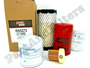 Kubota B2320 B2620 B2920 HST HSD Tractor Filter Maintenance Kit