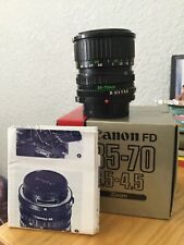 Canon FD 35-70mm F3.5-4.5 FD Mount W/ Original Box Mint