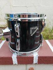 Remo MasterEdge 8x8 Black Tom Drum Nice!