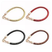 60CM DIY Strap Handle Handbag Shoulder Bag Leather Braided Replacement 4 Colors