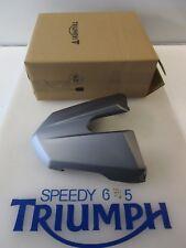 TRIUMPH Street Triple & R Asiento Trasero Capucha Matt grafito A9708271 ls 2013 - 2017