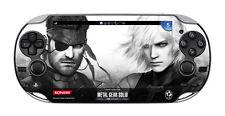 PSV Metal Gear Solid HG bonus Protect Skin Film PS Vita PCH-1000 KONAMI JAPAN FS