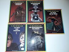 Lot 5 Chair De Poule Bayard Poche R.L.Stine