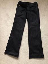 Diesel sample black trousers size 28W around 34 leg . Worn twice.