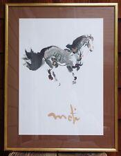 Le Cheval Horse Original Kaiko Moti Rare Gallery Lithograph Poster Art Print