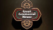 Disney polynesian resort Great Ceremonial House Tiki replica sign painted finish