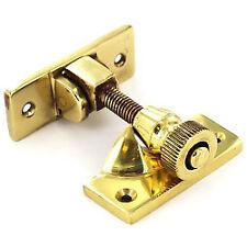 Securit S2584 Brass Sash Window Fastener Brighton 60mm