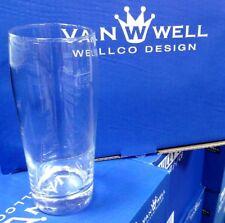 12 GASTRO WILLY BIER GLAS BECHER 0,5L  BIERGLAS WEIN SAFT WASSER VON VAN WELL