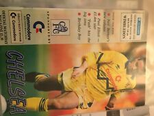 More details for  28 x chelsea 1991 / 1992 season - complete set of home football programmes