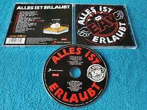 EAV - Erste Allgemeine Verunsicherung - Alles ist erlaubt - CD (Made in EU Sony)