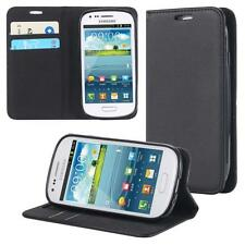 Samsung Galaxy S3 mini i8190 i8200 Handy Tasche  Flip Cover  Case Schutz  Wallet