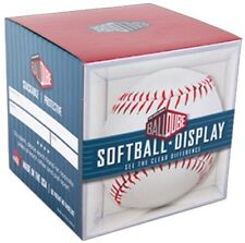BallQube Softball Display Cube - Protective Storage Case NEW! Made In The USA
