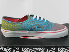 Vans Authentic Chaussures 34,5 Tennis Baskets Safari Animal léopard UK2.5 Neuf