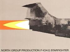 LOCKHEED F-104G STARFIGHTER - NORTH GROUP PRODUCTION