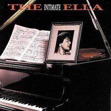 The Intimate Ella CD by Ella Fitzgerald (Mar-1990, Verve) Paul Smith : Piano EUC