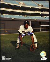 1968-75 Ralph Garr Atlanta Braves Signed Autographed 8 x 10 Photo (JSA)