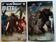 DC Comics DARK NIGHTS METAL #1 SPECIAL EDITION NM Wrap-around BATMAN WHO LAUGHS