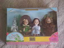 The Wizard of Oz Kelly Doll & Friends Giftset Barbie Sister NRFB Lion Tinman