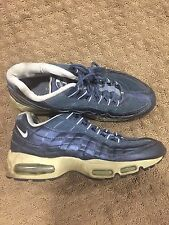 NIKE AIR MAX 95 Shiny BLUE SZ 10 (not sure the exact color name)