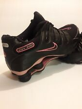 Nike Shox Women's Running Shoes Black & Pink sz US 8.5 Excellent Condition