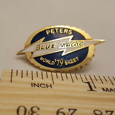 "VINTAGE 1979 PETERS ""BLUE MAGIC"" WORLD SKEET PIN - NEW - FREE SHIPPING"