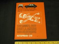 1968 1969 1970 British Car Workshop Manual - MG-Austin-Morris-Riley-Wolseley
