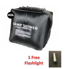 Outdoor Camping Solar Heated Water Pipe Camp Solar Shower Bag Portable Bag 40L