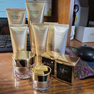 U Choose Estee Lauder Re-Nutriv Creme Cleanser Lotion Diamond Eye & Energy Creme