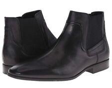 Calvin Klein Men's Clarke Chelsea Black Leather Boots