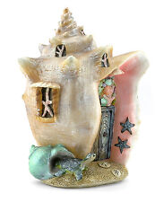 Miniature Tropical Conch Condo Mermaid Shell  House GO 17506  Fairy Garden