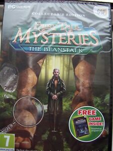 2 GAME PACK---1-THE BEANSTALK & 2-THE PUPPET THIEF---HIDDEN OBJECT---PC DVD--NEW