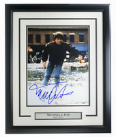 Michael J. Fox Signed Framed Back To The Future 11x14 Photo PSA/DNA U45987