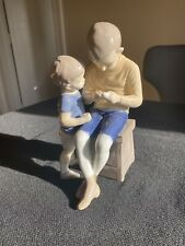 Bing & Grondahl Copenhagen Denmark Porcelain Figurine 1648 brothers Tom & Willy
