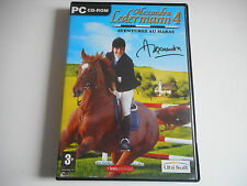 JEU PC CD-ROM - ALEXANDRA LEDERMANN 4 / AVENTURES AU HARAS