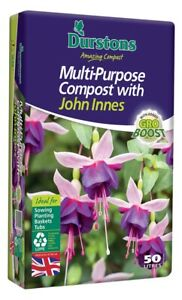 Durstons Multi Purpose Compost With John Innes 50L