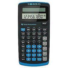 Texas Instruments Taschenrechner TI-30 ECO RS 79 x 153x18mm Solar-Energie