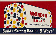 """WONDER BREAD"" ADVERTISING METAL SIGN"